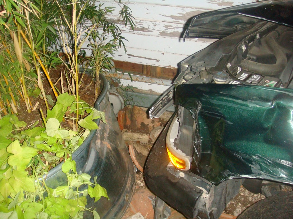 A Car Crashed into my House!