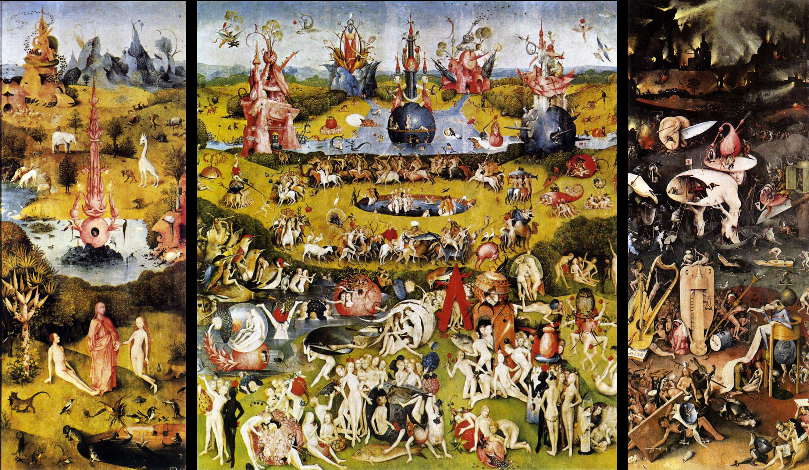 "The Garden Of Earthly Delights Closed ""Stressing Out&qu..."