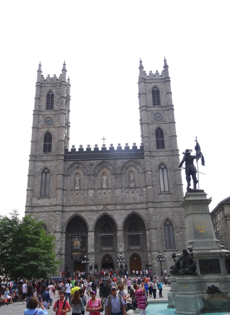 historic district of old Montreal
